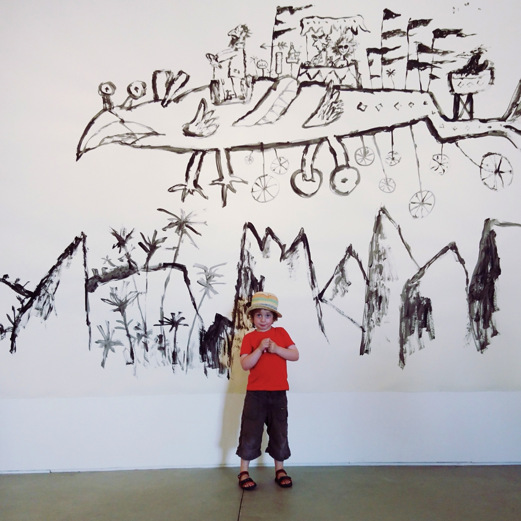 Quentin Blake at The Jerwood Gallery