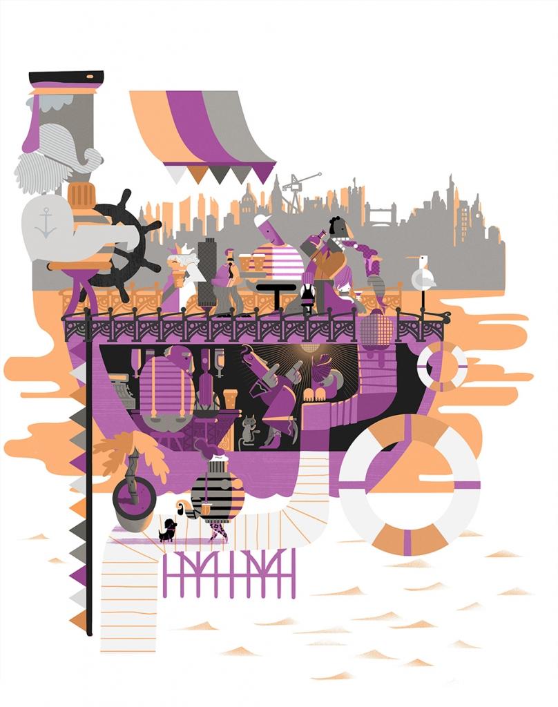 New illustration work by Graham Carter